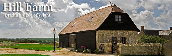 Hill Farm Barn and Lodge, Self Catering cottage on the Isle of Wight - Isle of Wight Cottage Holidays